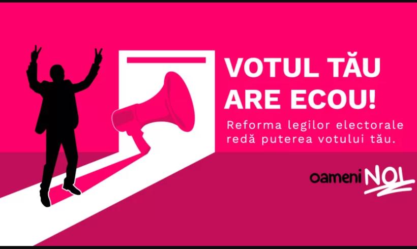 Reforma electorală trebuie să fie pe agenda noului Parlament şi a noului Guvern