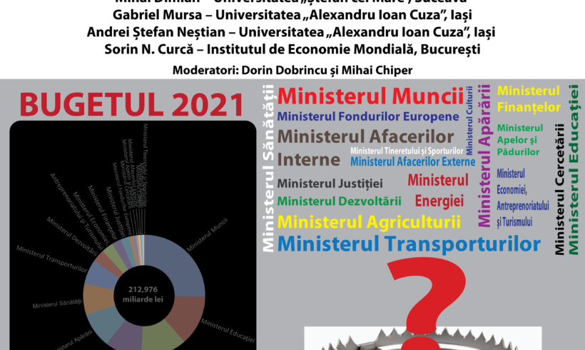 """Dezbatere MDM: """"Capcanele bugetului României. Cum afectează Moldova?"""""""