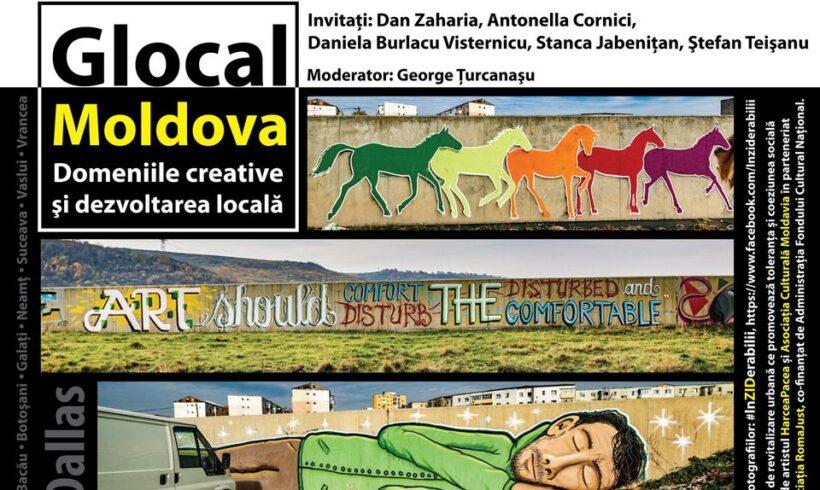"""Dezbatere MDM: """"Glocal Moldova – Domeniile creative şi dezvoltarea locală"""""""