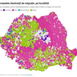 panorama.ro: INTERACTIV | Altă hartă a României: peticele de Europa aduse acasă de diaspora