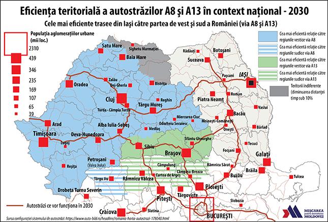 Cea mai eficientă cale rutieră rapidă a moldovenilor către vest. A8 vs. A13 (III)