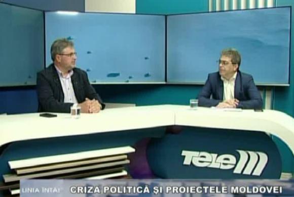 TeleM: Despre criza politică și proiectele Moldovei